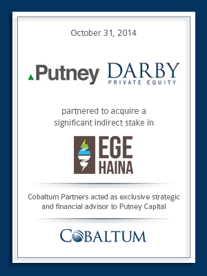 Cobaltum advises on acquisition of EGE Haina stake, partnership with Darby and acquisition financing from Bancolombia